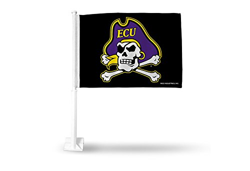 Rico Industries NCAA East Carolina Pirates Car Flag