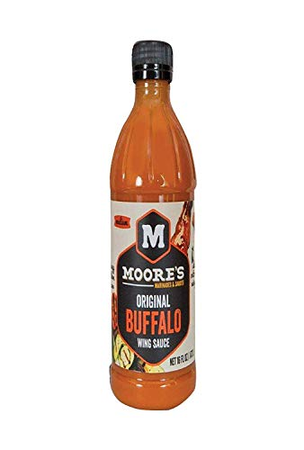 Moore's Buffalo Wing Sauce - Original - Case Of 6-16 Fl Oz. ()