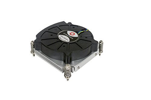 Dynatron K6 Low power CPU cooling solution. 80x80x15 mm PWM blower with Aluminum heatsink for 1U ()