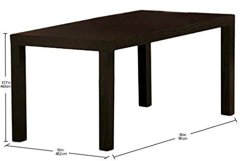 DHP Parsons Modern Coffee Table, Dark Espresso