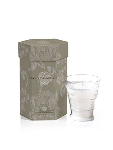 Zodax Grand Casablanca Scented Candle 40 Hour Burn Time 8.32 oz Tahitian - Candle Grande