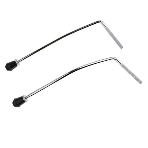 B Blesiya Replacement Bass Drum Legs for Drummer Percussionist, 2 Pack