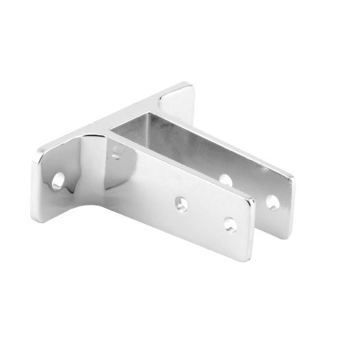 Sentry Supply 650-6446 Extra Long Urinal Bracket, 1-Inch, Chrome (Partition Bracket Ear)