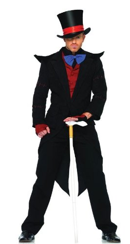 Evil Mad Hatter Costume - X-Large - Chest Size 53 -