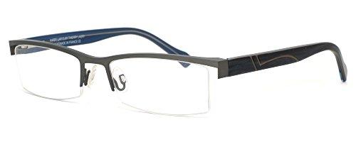 Harry Lary's French Optical Eyewear Kingdomy in Gunmetal (325) ; DEMO - French Optical Frames