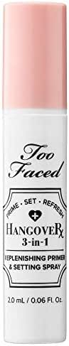 Face Makeup: Too Faced Hangover 3-in-1 Replenishing Primer & Setting Spray
