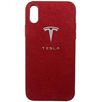 Tesla Motors Logo Red iphone case