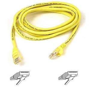 Belkin A3L850 100 YLWS 100 Feet Patch Yellow