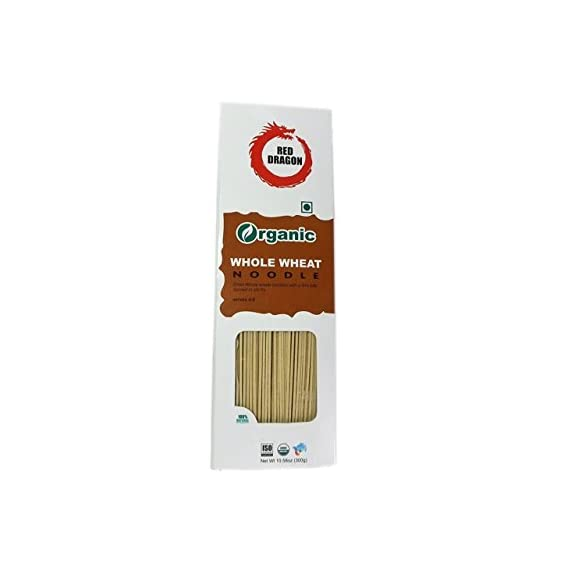 Red Dragon Organic Whole Wheat Noodles, 300g
