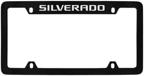 Z71 Black License Plate Frame with Caps