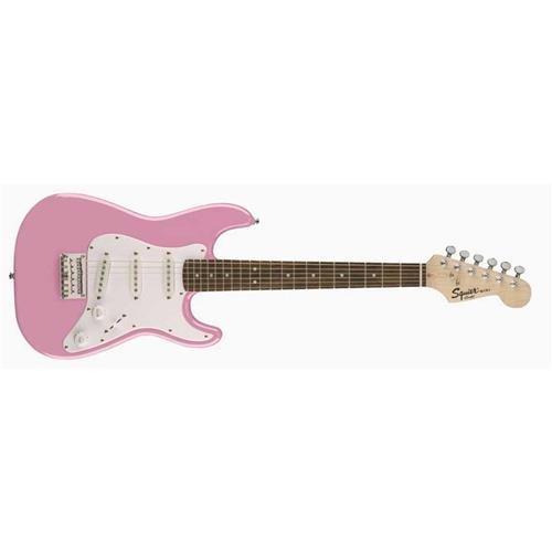 Squier by Fender Mini Strat  – Rosewood Fingerboard  – Pink