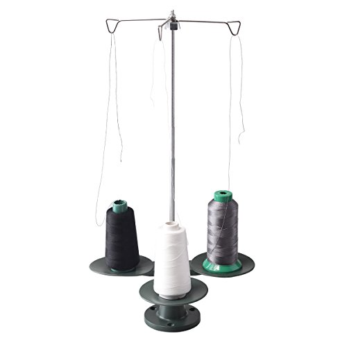 HONEYSEW 3-Spool Thread Stand For all Industrial and Domestic Sewing Machine