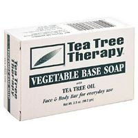 Tea Tree Therapy Tea Tree vegetable Soap -- 6x3.9 Oz by T...