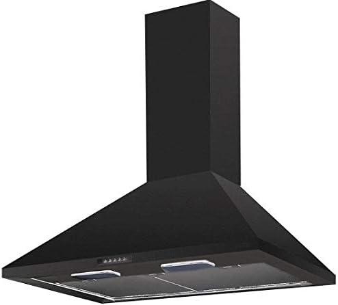 Somelux HCL68NF - Campana decorativa de pared (60 cm), color negro: Amazon.es: Grandes electrodomésticos