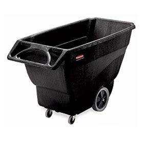 Rubbermaid 1/2 Cu. Yd. Structural Foam Plastic Tilt Truck by Rubbermaid