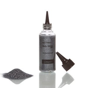 Glimmer Body Art Glitter Tattoo Gun Metal Body Glitter Refill