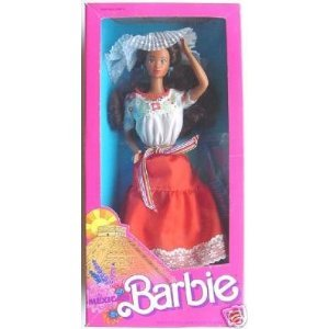 Barbie Mexican Dolls of the World 1988 - Barbie 1988 Doll