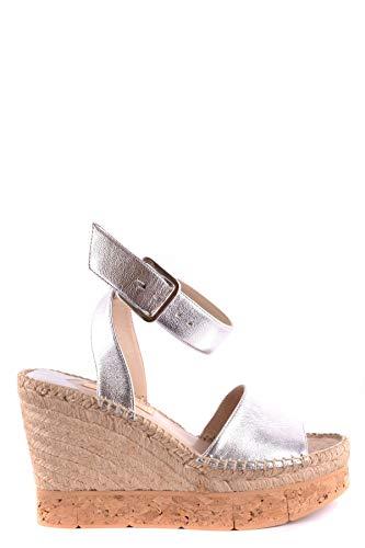 Cuir Paloma Compensées Mcbi33958 Argent Barceló Femme Chaussures rBoeQdCxW