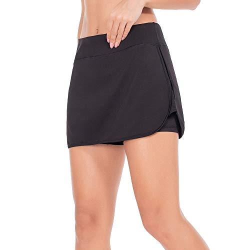 ZEALOTPOWER Athletic Skorts for Women Running Skirts Active Exercise Tennis Golf Sports