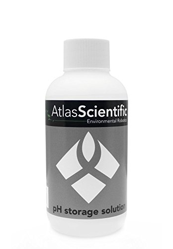 pH Storage Solution - Electrode Storage Solution - NIST Traceable Reference Standards for All pH Meters & pH Probe - Extends Life Of pH Probes - 8oz Bottle (250 ml)