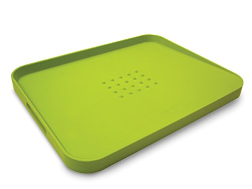 Joseph Joseph 60001 Cut & Carve Multi-Function Cutting Board, Large, Green