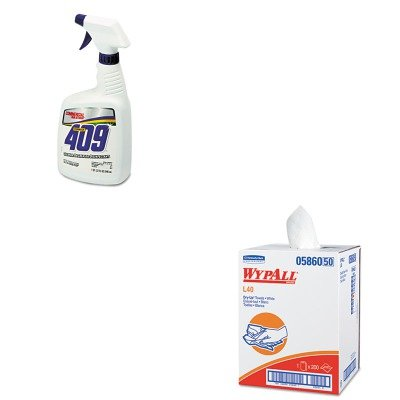 KITCOX35306EAKIM05860 - Value Kit - Wypall 05860 Professional Towels (KIM05860) and Clorox Cleaner Degreaser Disinfectant (COX35306EA)