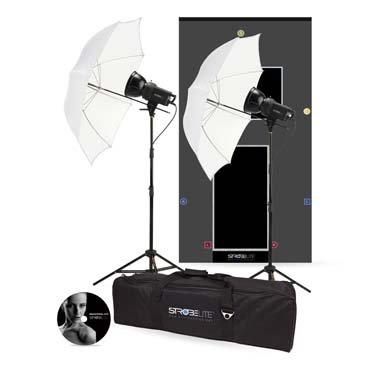 Westcott 242 Strobelite 2-Light Softbox/Umbrella Kit (Black) by Westcott