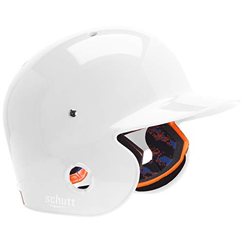Schutt Sports AiR Pro 5.6 Baseball Batter's Helmet, High Gloss White, - White Helmet Schutt Batting