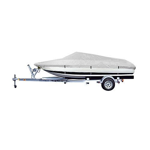 Runabouts Except Cuddy Cabin (Waterproof 20ft.-22ft. Beam Width To 100 inch Boat Cover (20-22 ft/100 inch width), V-Hull Runabouts Boat, V-Hull Pro-Style Bass Boat, Except Cuddy Cabin And Some Eenter Console Models Boats fit)
