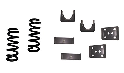 "QSA 3"" Front / 6"" Rear Lowering Kit Coil Springs + Flip Kit. Compatible with 1999-2006 Chevrolet Silverado 1500 2WD / GMC Sierra 1500 2WD"