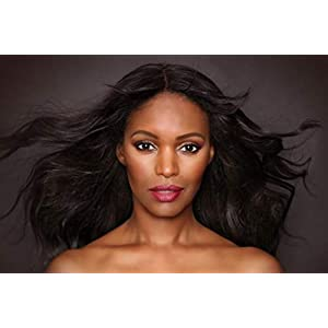 16 to 26 Inch #1 Jet Black Straight Clip-Ins Human Hair Extensions 10 Pcs (FULL Head Install). Not Into Sew-Ins? Just…
