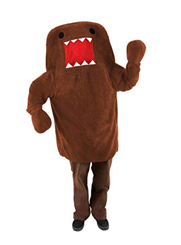 elope Men's Domo Costume, Brown, Large/X-Large -