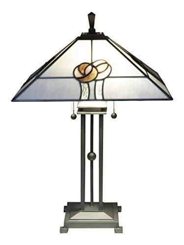 Springdale STT18229 Table Lamp, Silver