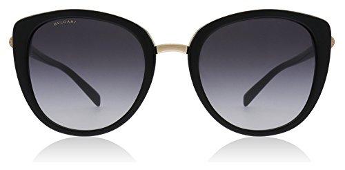 Bvlgari BV8177 501/8G Black BV8177 Cats Eyes Sunglasses Lens Category 3 Size ()