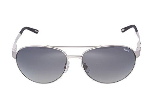 f9f0966ff51 CHOPARD SCH 932 628Z Men 23KT GP Silver Frame Polarized Aviator Sunglasses