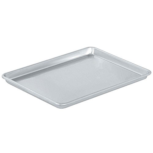 Vollrath 5314 Wear-Ever Half-Size Sheet Pan, 18-Inch x 13-Inch, Open-Bead, Aluminum, NSF