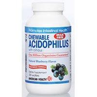 Acidophilus Chew (American Health Acidophilus Chew Bluebry)