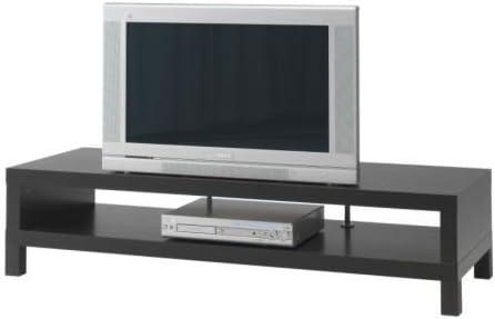 Ikea Lack Tv Bank In Schwarzbraun 149x55cm Amazon De Kuche Haushalt
