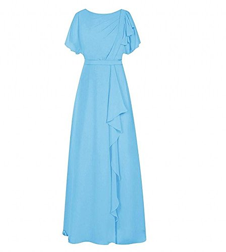 Kleid KA A Damen Blau Linie Beauty 1Wf4qwO