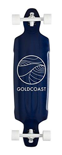 GoldCoast Skateboard – Complete Longboard – Classic Reflex Blue 38″