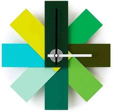 Normann Copenhagen Watch Me Wall Clock, Green 11
