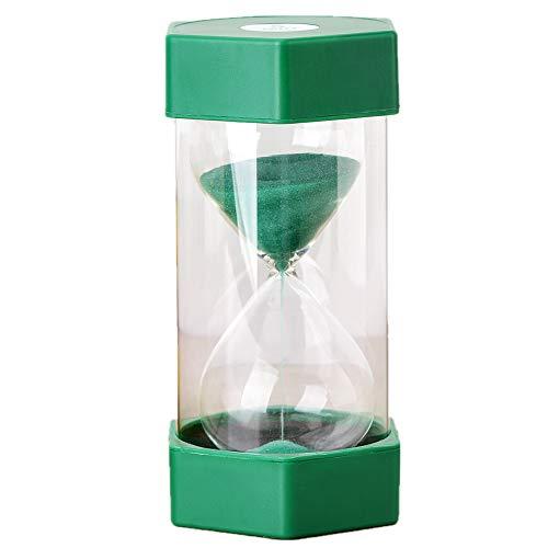 5 Mins Sand Timer, Teacher Resource Hourglass Kids Toy Precise Sand Clock, Green Cooking Baking Kitchen Toothbrush Timer