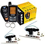 3305V DEI Viper 2 way Keyless Entry Security Alarm System With 2 Door Locks (Viper Responder 350 2 Way Security System)