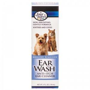Four Paws Anti-Itch Ear Wash - 4 oz. Ear Wash Anti Itch