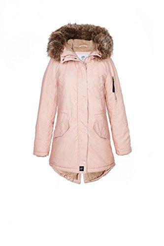 Rosa With Invierno Oversize Fur Fake Classic Sixth June Chaqueta yPB8cwPYq