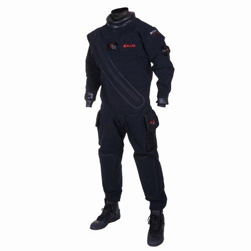 New Hollis FX100 Front Zip BioDry Drysuit (Size Large)