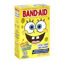 amazon com band aid spongebob squarepants extra large adhesive