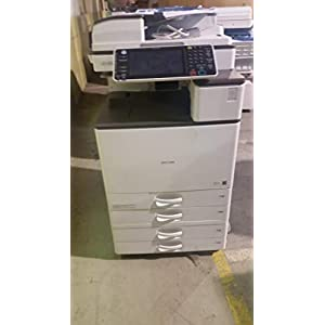 Ricoh Aficio MP C3003 A3 Color Multifunction Copier – 30ppm, Copy, Print, Scan, 2 Trays with Stand (Renewed)