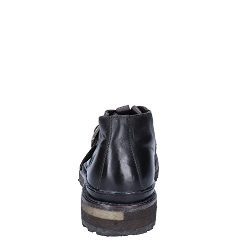 MOMA Klassiche Herren 42 EU Schwarz Leder