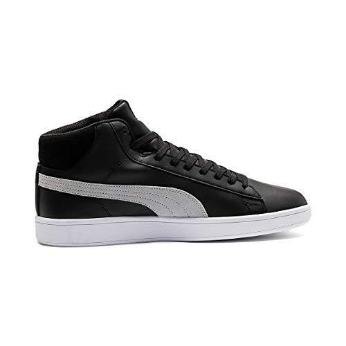 Mid V2 367853 Sneaker Unisex Black Puma Puretex Smash 01 gAxqU6qw4